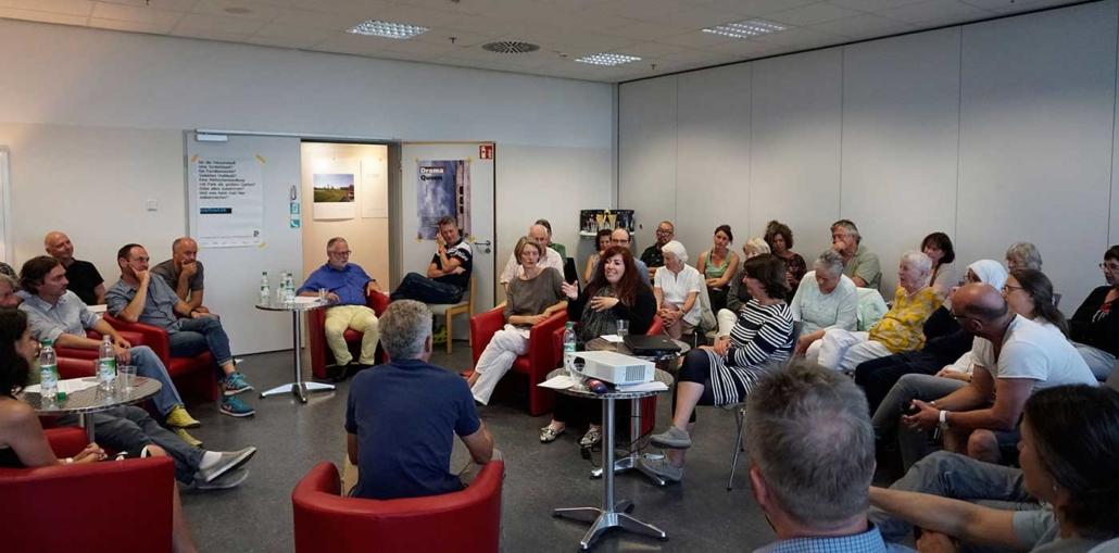 TalkTalk in der Kultur-Etage