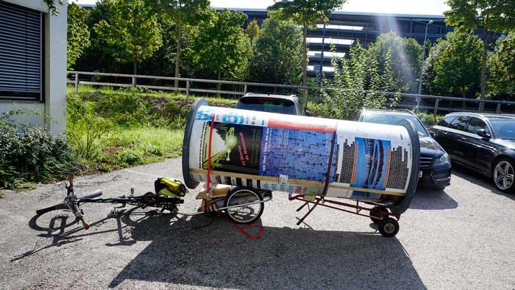 Transport Lifaßsäule