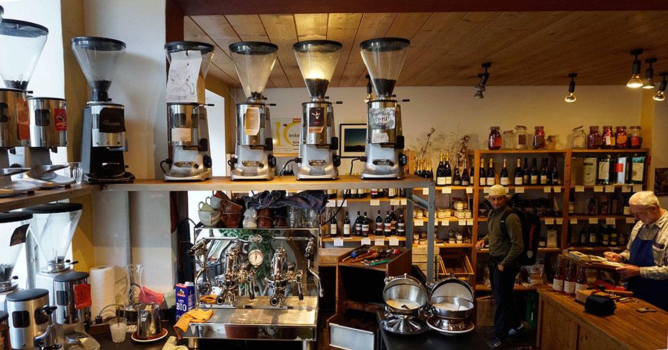 Wein- und Kaffeehandlung Grenzgänger in Haidhausen