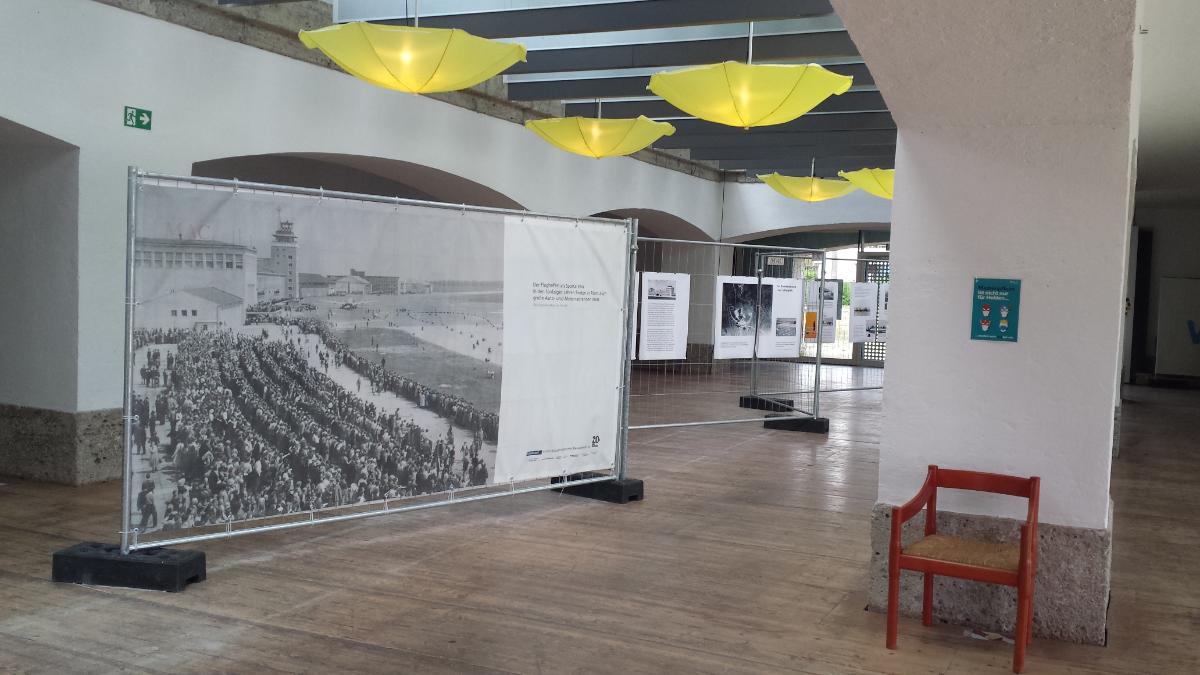 Ausstellung Geschichte des Flughafens